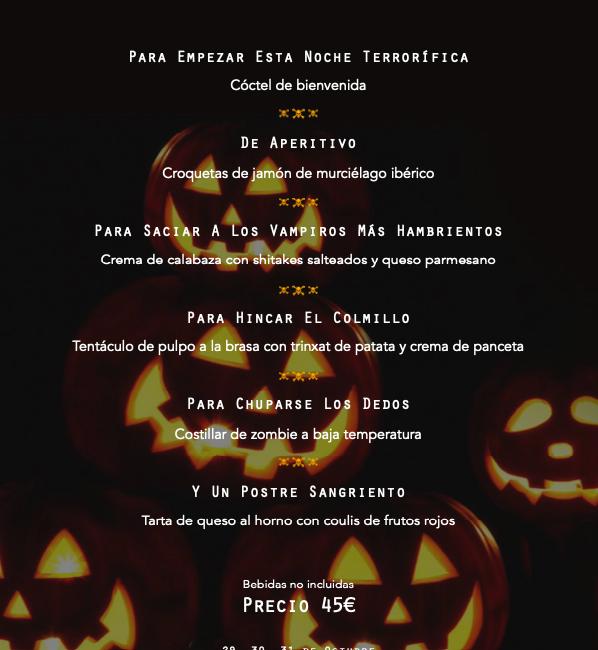 Cursor y Halloween menu pdf 598x650 - Menú Halloween 2021